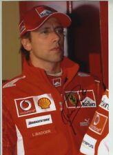 Luca Badoer Ferrari F1 Test Driver Portrait Signed Photograph 2
