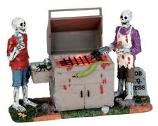 "LEMAX  Spooky Town 54912 ""GORY GRILLIN"" Halloween Neu"