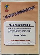 The Bradley Method Teacher's DVD Dr Bradley on Birthing Class from 1974 MUST SEE