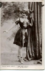 70697 Orig ca 1905 Photo Postcard British Actress Gaby Deslys in The New Aladdin