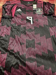 Adidas Mexico Stadium Black Pink Soccer Jersey Raúl 92021 Size XL Men's