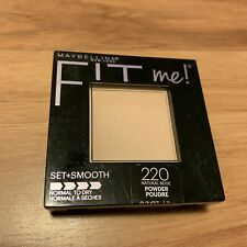 Maybelline Fit Me Pressed Powder Compact #220 NATURAL BEIGE