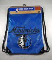 New Dallas Mavericks NBA Drawstring Cinch Back-Sack Backpack - Free Shipping!