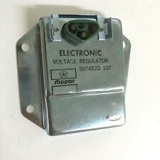 Original Mopar Electronic Voltage Regulator 3874520107 Made In USA Brand New