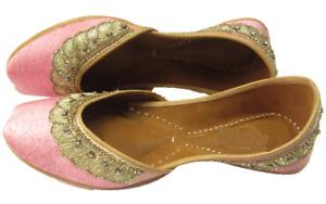 punjabi jutti khussa shoes bridal shoes ethnic shoes mojari Juti women Footwear