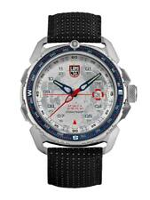New Luminox ICE-SAR ARCTIC 1200 White Dial Leather Band Men's Watch XL.1208