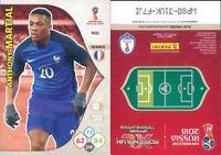WORLD CUP  RUSSIA 2018 *Panini Adrenalyn-Card  N.148*FRANCIA-MARTIAL