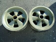Vintage Cragar GT 14x6 Mag Wheel Rims Set of 2 OEM