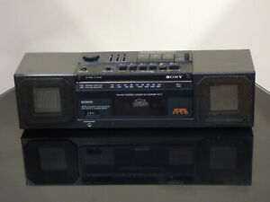 VINTAGE SONY ZX-7 BOOMBOX RADIO CASSETTE TESTED VERY RARE!