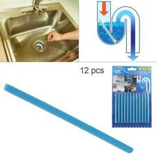12pcs Drain Cleaner Enzymes Sticks Odour Remover for Kitchen Tub Sink Pipeline