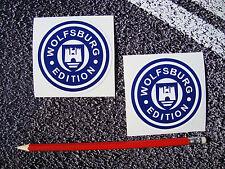 Wolfsburg edition stickers T2 vw vdub splitty bay T25 westfalia golf gti S042