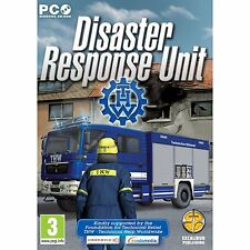 Disaster Response Unit: THW Simulator (PC DVD) (UK IMPORT) Nuovo e Sigillato