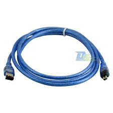 Fire Wire carries 5 FT 1.5m IEEE 1394 FireWire iLink DV 6 Pin to 4Pin Cable