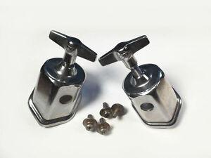 IMPORT BASS DRUM SPUR or LEG MOUNTS. 2 pieces #D11153