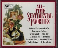 READERS DIGEST - ALL-TIME SENTIMENTAL FAVORITES- MINT 4 CD BOX SET WITH BOOKLET