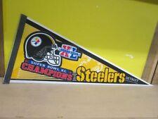 Pittsburgh Steelers Football Vintage Sports Pennants & Flags