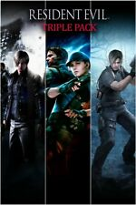RESIDENT EVIL 4 RESIDENT EVIL 5 E 6 TRE GAME Xbox ONE NO KEY (LEGGI DESCRIZIONE)