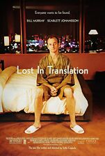Lost In Translation (2003) Original Movie Poster - B. Murray Version - Rolled