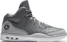 Size 17 Nike MEN JORDAN FLIGHT TRADITION OFF COURT SHOES 819472 003 GREY WHITE