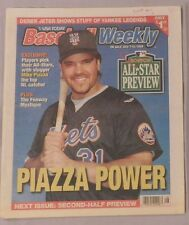 Mike Piazza New York Mets July 7-14, 1999 Baseball Weekly