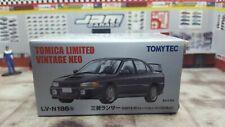 TOMICA LV-N186b MITSUBISHI LANCER EVOLUTION IV NEW IN BOX LIMITED VINTAGE NEO