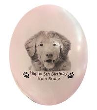 I numeri di riferimento PET DOG foto regalo di compleanno. personalizzata 15 numeri di riferimento con foto