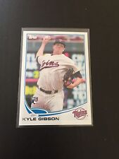 2013 Topps Kyle Gibson RC Twins