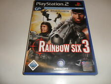 Playstation 2 ps 2 rainbow six 3 (tom Clancy)