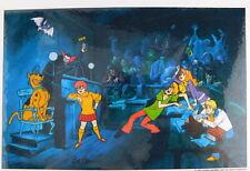 Hanna Barbera.Laminated Cel Promo Binder Page Scooby Doo Witless Prosecution