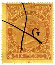 (I.B) Griqualand West Revenue : Duty Stamp 6d