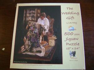 """The Wedding Gift By Les Ray Puzzle 500 Pieces  18 """" x 24 """" Sunsout"""