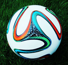 HOT 2014 World Football Soccer Balls Outdoor sports Goods Youth Gift SIZE 5