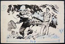 Dessin original de Noël GLOESNER (1917-1995) illustration 7 pour Frimousse