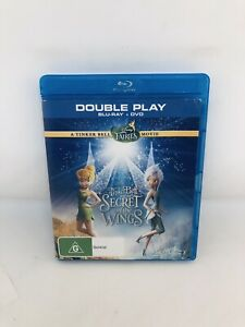 TINKERBELL & The Secret Of The Wings Blu-ray Region B + DVD Very Good Condition
