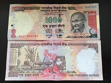 India 1000 rupees UNC 2005 Banknote
