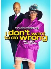 Tyler Perry's I Don't Want to Do Wrong [New DVD] Subtitled, Widescreen
