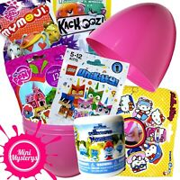 SURPRISE EGG TOYS BUNDLE - LEGO Unikitty, My Little Pony, Hello Kitty Blind Bags