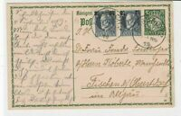 germany 1919 stamps card ref 20991