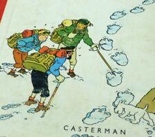 Tintin au TIbet Hergé Casterman Edition B30 1962 printed in France