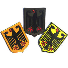 Bundle 3pcs German Federal Eagle Coat of Arms Military Tactical Morale OPS Patch