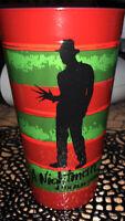 "Nightmare On Elm Street Freddy Kruger  7"" Plastic Cup! NEW HTF"