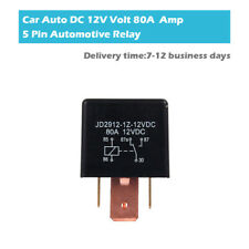 12V 80A 5 Pin SPDT On/Off Auto Switch Control Car Auto Starter Relay Universal