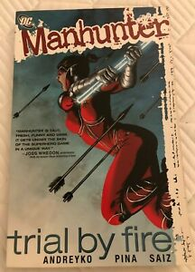 MANHUNTER: TRIAL BY FIRE TP
