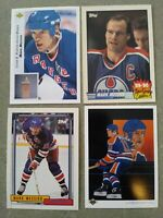 Mark Messier lot of 165 cards: Rangers, Oilers