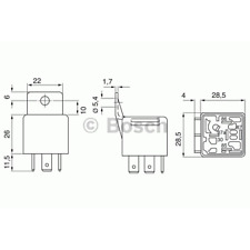 Relais - Bosch 0 332 209 158