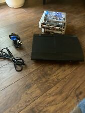 Sony Playstation 3 PS3 Super Slim 250 GB Console System Tested BUNDLE