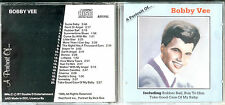 A Portrait of... BOBBY VEE  CD 1989 Lollipop/Donna