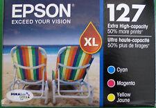 Epson GENUINE 127 Color Ink (NO RETAIL BOX)(T127520) Workforce 840 845