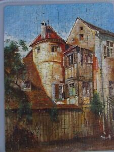 1930s Teaser Harter Publishing Puzzle An English Home 35060 H160