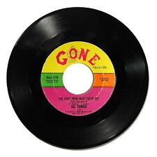 1961 Ral Donner 'You Don't Know What You've Got/So Close To Heaven' Gone 45 RPM